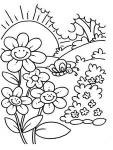 spring coloring sheets free printable mellissa board