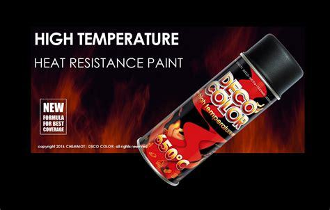 decocolor heat resistant paint spray high temperature stove exhausts bbq vht xht ebay