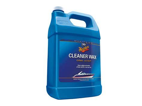 boat rv cleaner wax liquid meguiar s 1 step boat rv cleaner wax liquid 3 78l meguiars