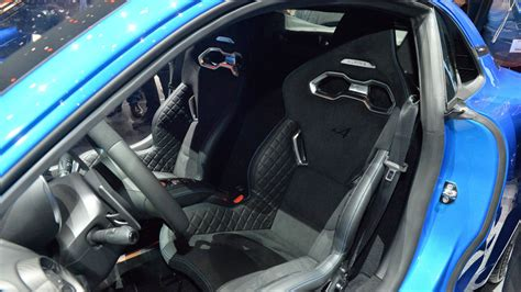 2017 alpine a110 interior alpine a110 is a curvaceous 252 hp porsche cayman rival