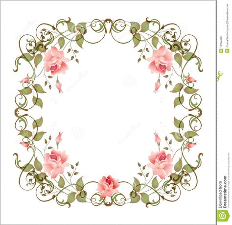 theme line vintage flower free vintage floral frame download from over 27 million high