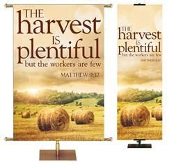 the harvest is plentiful but the workers are few 1000 images about missions outreach banners on pinterest