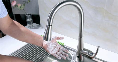 Touchless Kitchen Faucets by Sensor Faucets Kitchen Model Railing Stairs And Kitchen