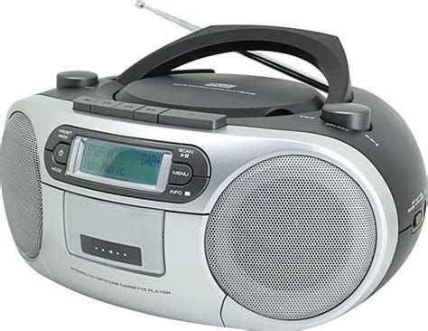 cassette and cd player soundmaster scd7900 portable fm dab radio cassette cd