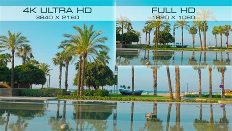 4k comparison compare new digital standard 4k ultra hd vs hd