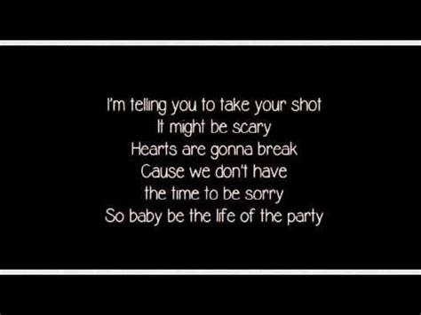best party song lyrics life of the party shawn mendes lyrics chords chordify