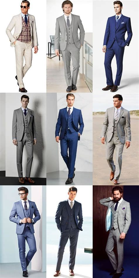 Men's Summer Wedding Outfit Inspiration   Three Piece