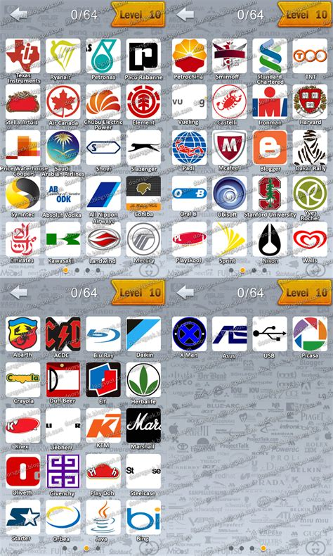 logo quiz mangoo answers level 26 logo quiz by canadadroid level 10 doors geek