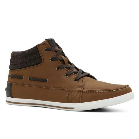 aldo sneakers lyst aldo kayci in brown for
