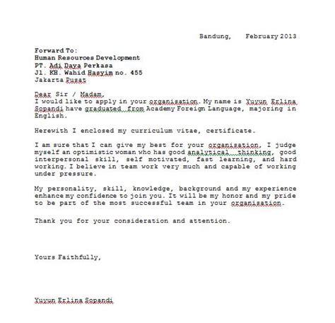contoh surat anekacontoh