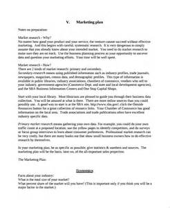 Business Plan Template Gov by Sle Personal Business Plan Template 7 Free Documents