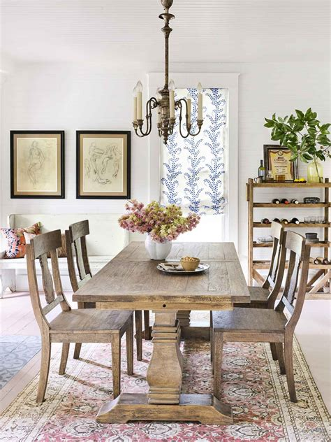 Family Dining Room Decorating Ideas by Shabby Chic Rustic Country Style Dining Room Featured