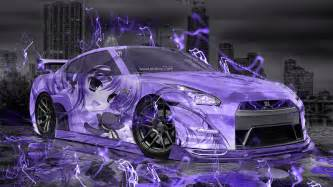 Beautiful Bmw Lake City #2: Nissan-GTR-R35-JDM-3D-Anime-Girl-Aerography-City-Car-2015-Art-Violet-Neon-Effects-HD-Wallpapers-design-by-Tony-Kokhan-www.el-tony.com-image.jpg