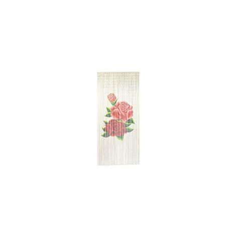 Rideau De Casa by Rideau De Porte Roses Perles En Bambou Motif Vintage