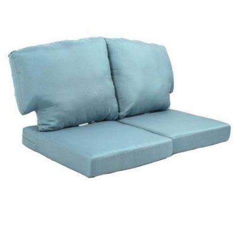 loveseat outdoor cushions sofa loveseat cushions outdoor cushions the home depot