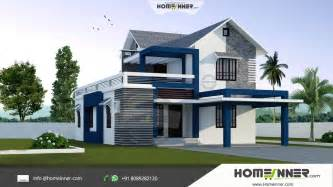 style house plans modern stylish 3 bhk small budget 1500 sqft indian home design