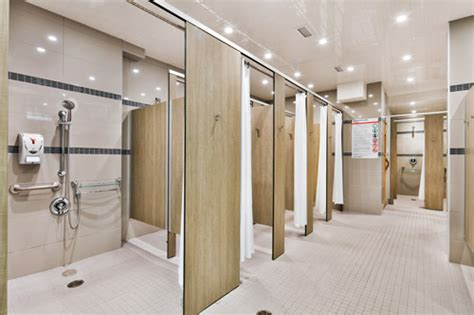 ymca locker room baobab design project s locker room renovations for ymca westmount