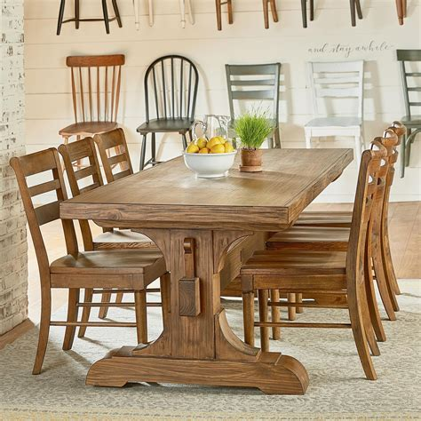 farmhouse table and chairs set magnolia home by joanna gaines farmhouse seven