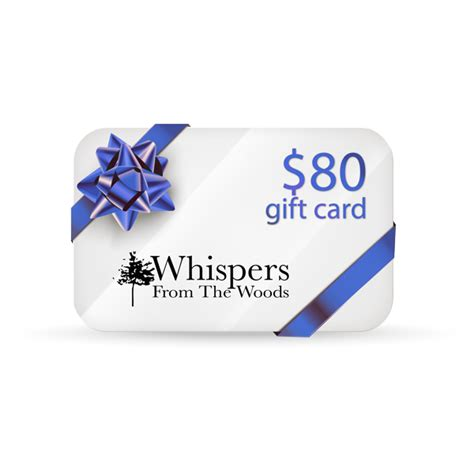 Great Gift Ideas Unique Gift Certificates The Rack Stylewatch Peoplecom by Great Gift Idea 80 Gift Card Whispers From The Woods