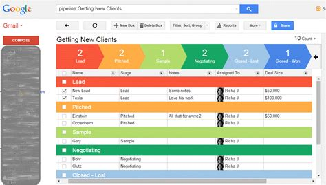 start managing leads clients and projects from your inbox