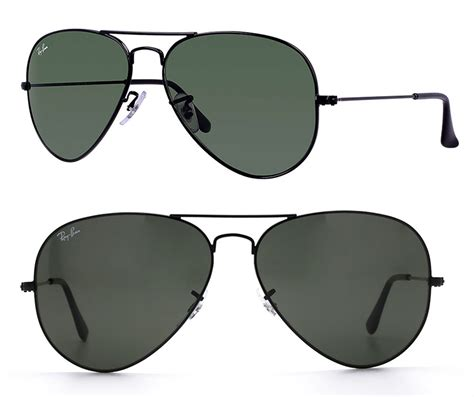 Rb Army 3026 rayban rb3026 l2821 62 italy aviator large metal ii sunglasses rb3026 l2821 black green 62mm
