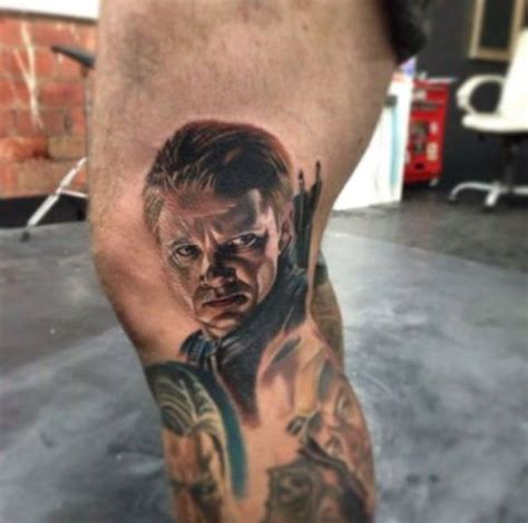 hawkeye tattoo 43 tattoos is this earth s mightiest ink