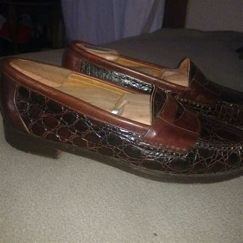 cole haan crocodile loafers 92 cole haan other cole haan bragano alligator