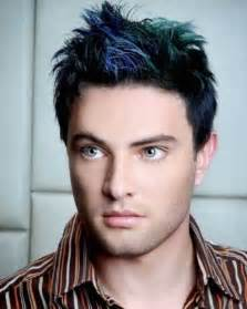 colored mens cool hair color ideas for mens hairstyles 2017