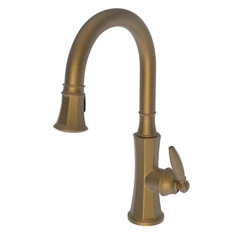 newport brass kitchen faucets newport brass 1200 5103 metropole 1200 5103 pull