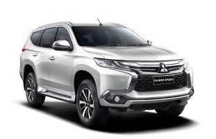 Mitsubishi W All New 2016 Mitsubishi Pajero Sport Officially Revealed