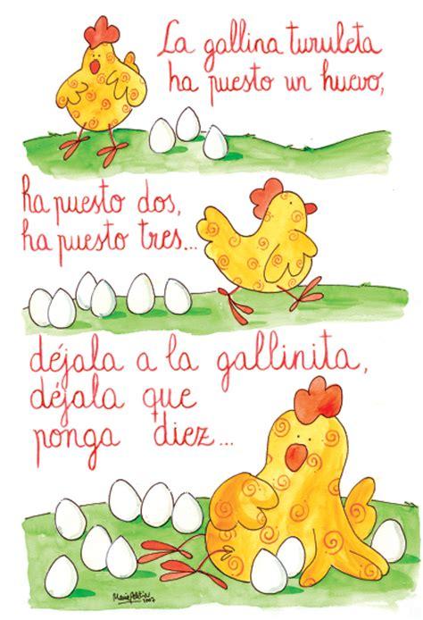 5 canciones infantiles cortas canci 243 n la gallina turuleca canciones infantiles