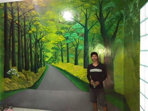 gambar lukisan dinding mural cafe bandung mural cafe