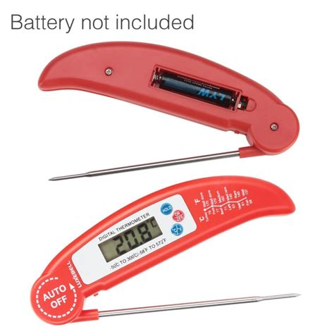 Food Thermometer For Kitchen Cooking Bbq Thermometer Makanan 10128 food thermometer luxebell digital instant read thermometer probe for kitchen cooking bbq