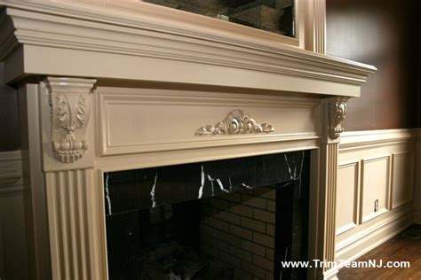 fireplace mantel trim fireplace mantels trim team nj woodwork fireplace
