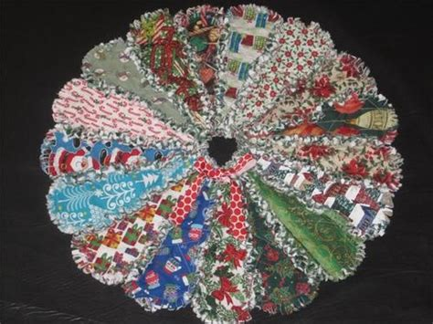 Rag Quilt Tree Skirt Pattern by 1000 Images About Rag Quilt Projects On