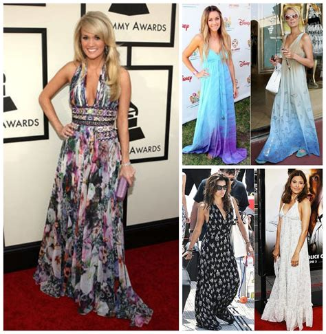 celeb maxi dress celebrity trend watch the maxi dress designer swimwear