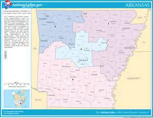 arkansas congressional district maps for united states
