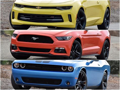 challenger vs new challenger dna 3 way camaro vs mustang vs challenger ny daily news