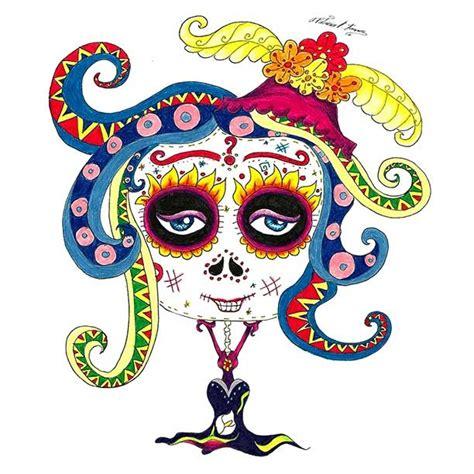 imagenes de calaveras animadas calaveras mexicanas domestika