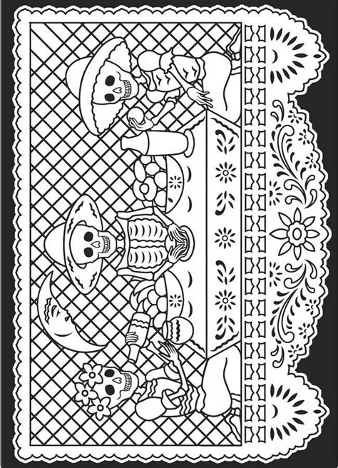 coloring pages for dia de los muertos dia de los muertos coloring pages free coloring home
