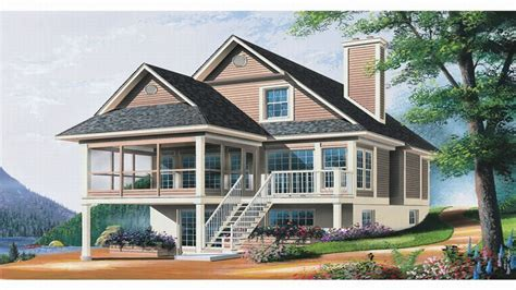 waterfront homes house plans ranch house plans waterfront