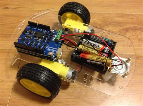 arduino assembly tutorial building a 2wd arduino robotic car codemahal