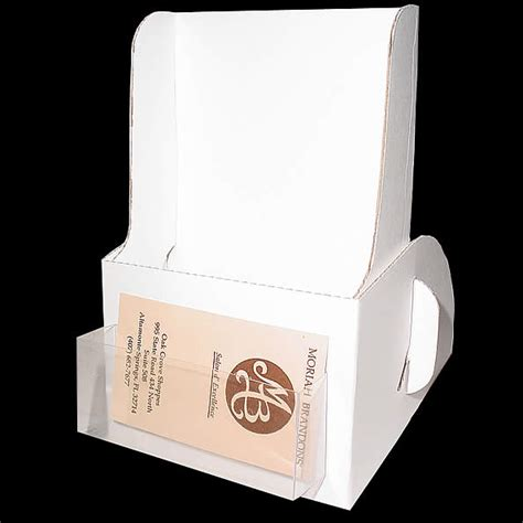 cardboard brochure holder template cardboard brochure
