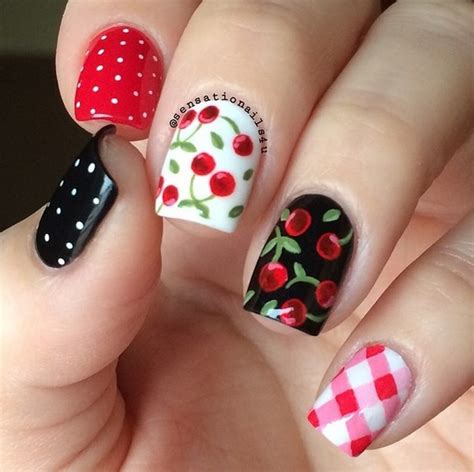 art design ideas yummy fruit nail art designs on instagram to drool over