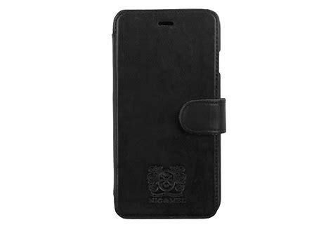 Slim Black Bookcase Slim Stan Bookcase Black Leather Iphone 6 7 8 Nic Mel