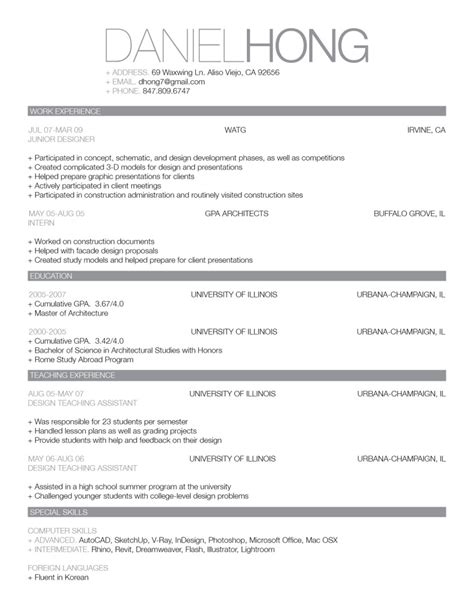 Example Of Simple Resume Format by How To Get A Job As A Wedding Planner Amanda Douglas