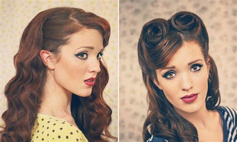 pin up hairstyle tutorial pinup photo ideas on pinup alberto vargas and