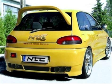 colt mitsubishi 1995 rearbumper for mitsubishi colt 1992 1995 avb sports