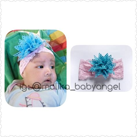 Bando Bayi Headband Bayi jual headband bandana bando bayi dan balita handmade harga grosir ibuhamil