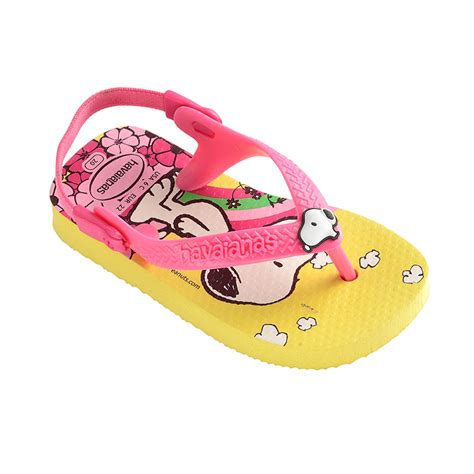 light yellow baby havaianas baby snoopy light yellow havaianas